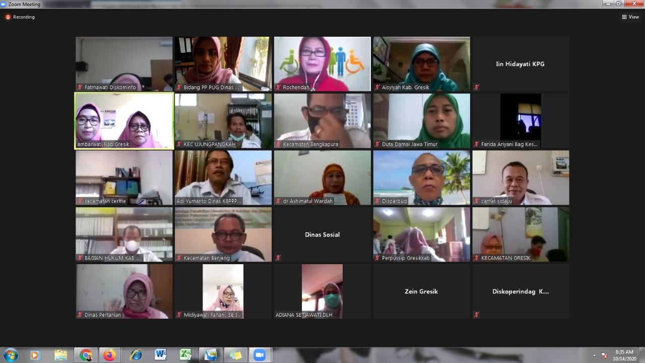 Mewujudkan Program Pembangunan Responsif Gender di Kabupaten Gresik