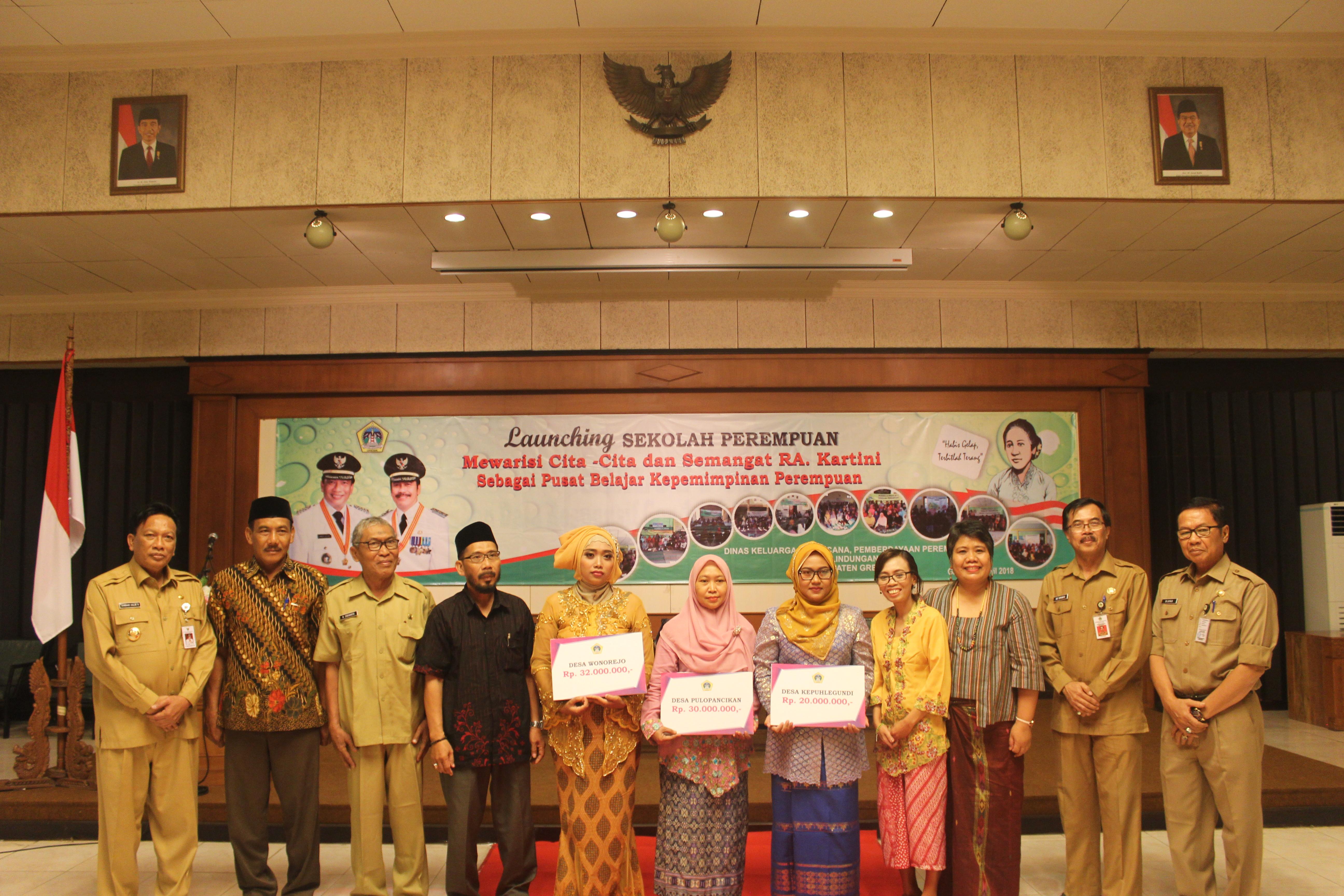 Peluncuran Sekolah Perempuan Sebagai Pusat Belajar Kepemimpinan Perempuan