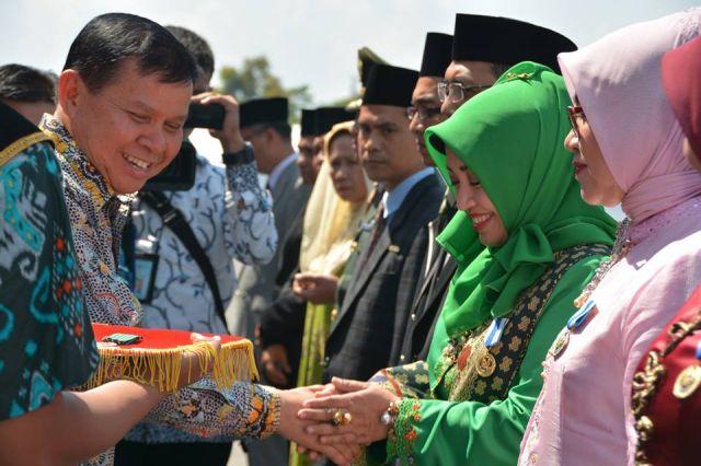 Badan KBPP gresik menerima penghargaan juara 2 Nasional