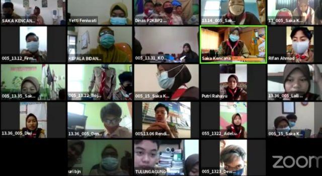 Meningkatkan Peran Anak Muda dalam Pengembangan  Kependudukan Melalui Peran Saka Jawa Timur 2020